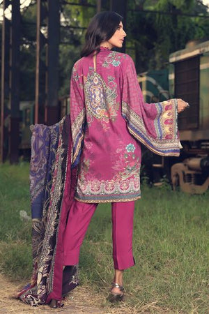 2390-Mahogany [Motifz Amal Linen Collection]