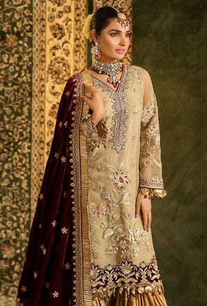 NEMBD-D4 (Noor by Saadia Asad - Festive Embroidered'19)