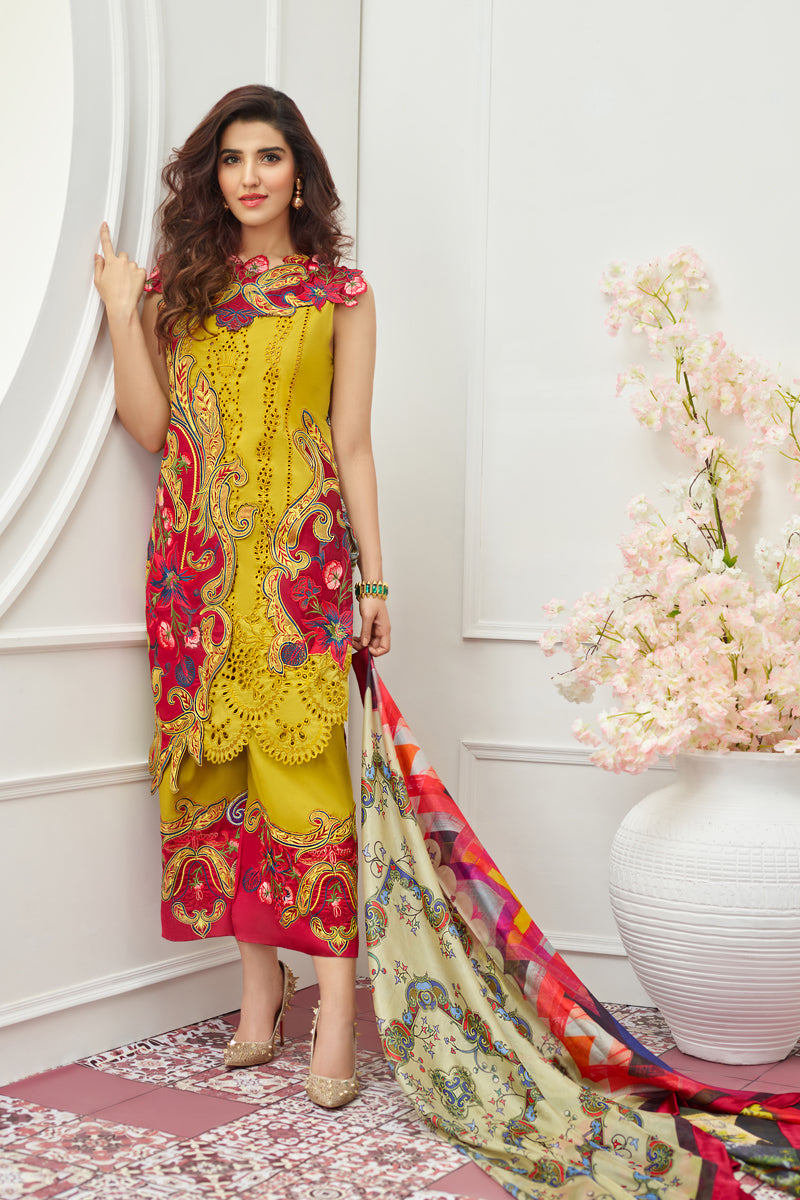 8M - Charms [Asifa & Nabeel Festive Lawn 2019]
