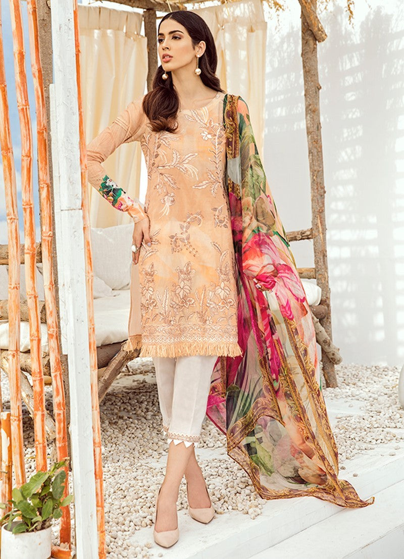 ICL -07 Sundress (3PC) [Iznik Chinon Lawn Vol 3]
