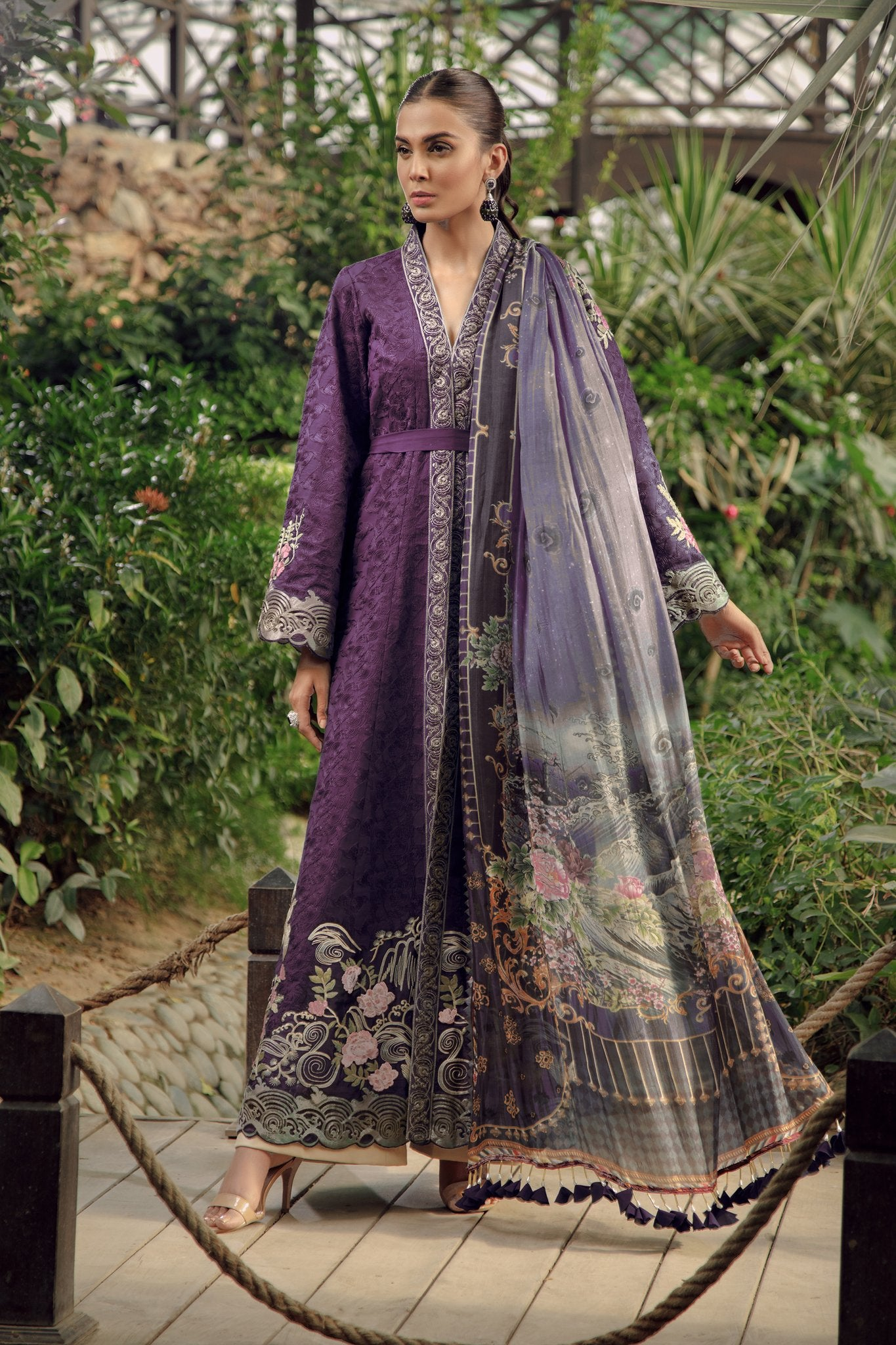 6B Purple - Zarqash Lawn 2019