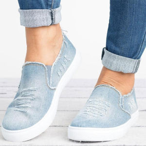 Solid Color Canvas Casual Shoes