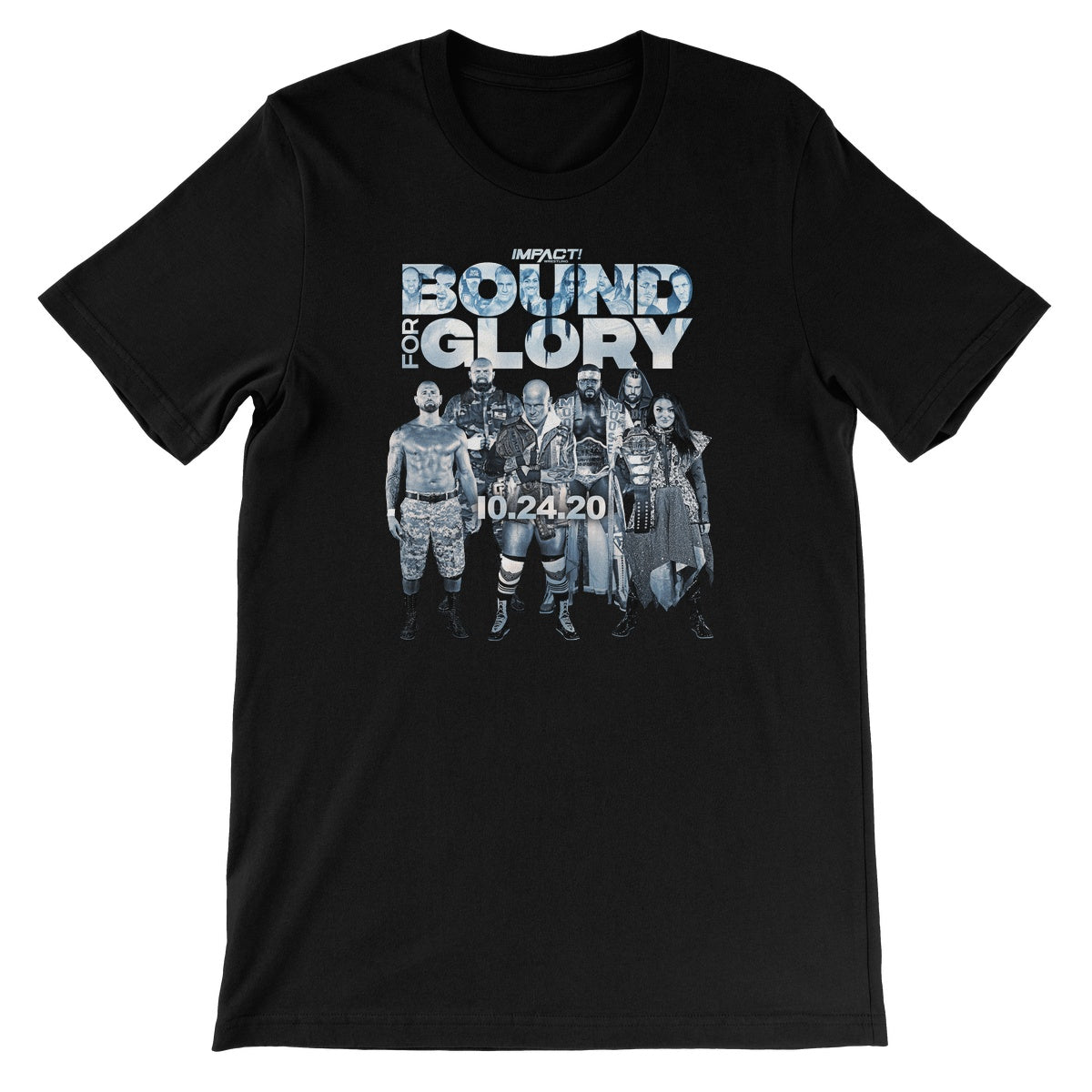 Bound For Glory 2020 - Event w/Date Unisex Short Sleeve T-Shirt