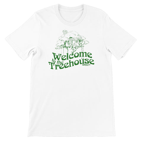 RASCALZ - Welcome Treehouse (White) Unisex Short Sleeve T-Shirt