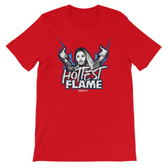 Kiera Hogan - The Hottest Flame Unisex Short Sleeve T-Shirt