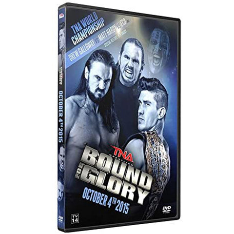 2015 Impact Bound For Glory DVD