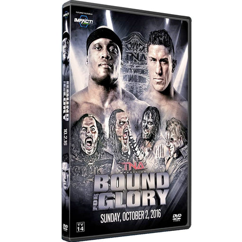 2016 Impact Bound For Glory DVD