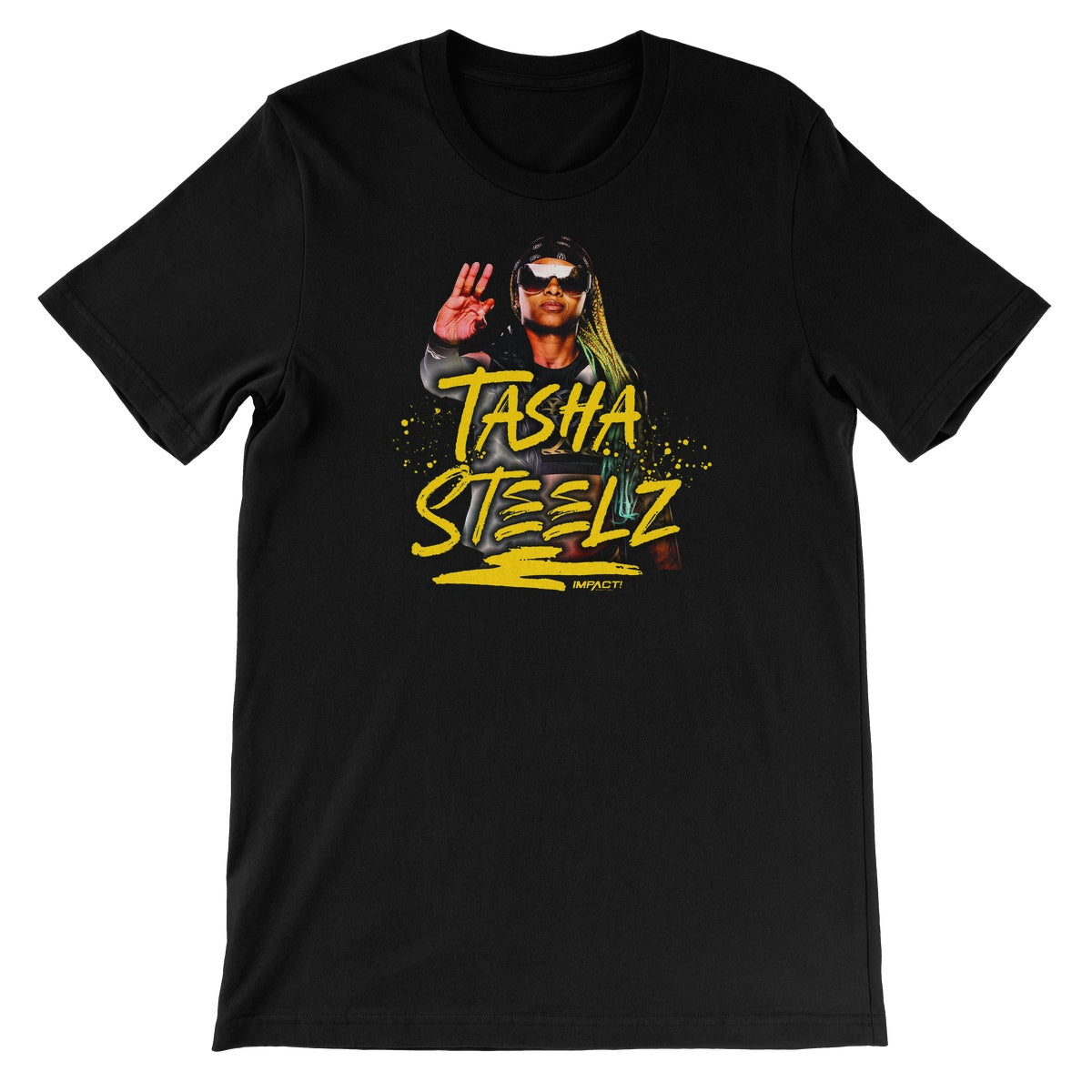 Tasha Steelz Unisex Short Sleeve T-Shirt