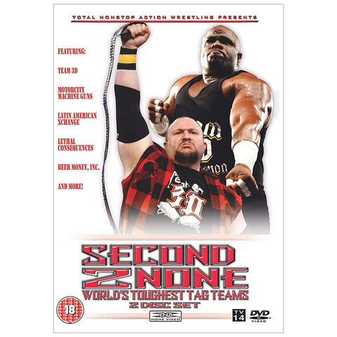 Second 2 None - World's Toughest Tag Teams DVD (2 Disc)