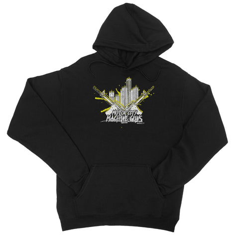 Motor City Machine Guns - Detroit City Heat College Hoodie