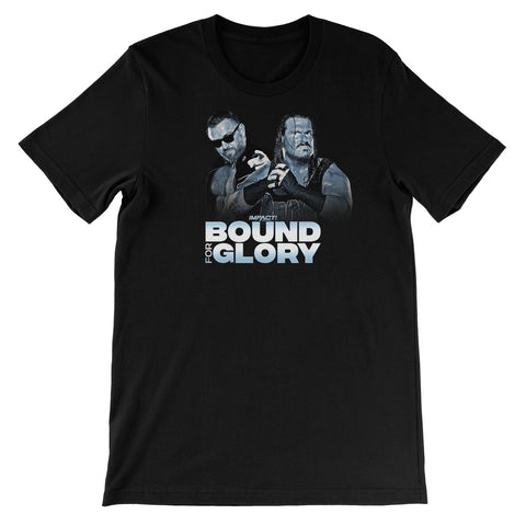 Bound For Glory 2020 - Heath/Rhino Unisex Short Sleeve T-Shirt