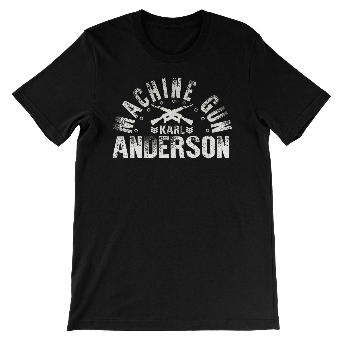 Machine Gun Karl Anderson Unisex Short Sleeve T-Shirt
