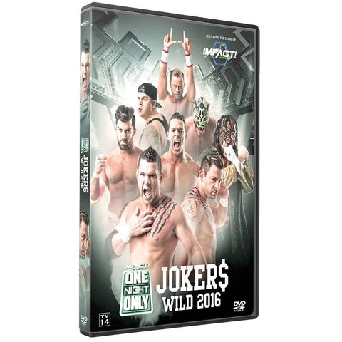 2016 Jokers Wild DVD