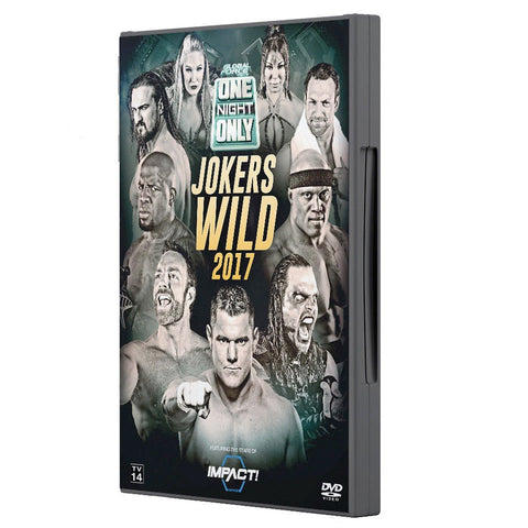 2017 Jokers Wild DVD