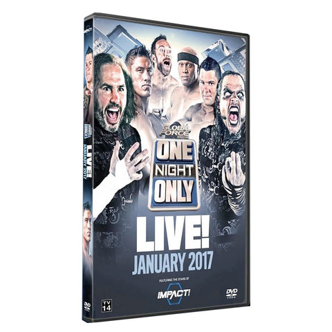One Night Only : Live January 2017 DVD