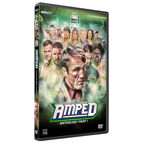 "IMPACT/GFW Global Force ""Amped"" Anthology Part 1 DVD"