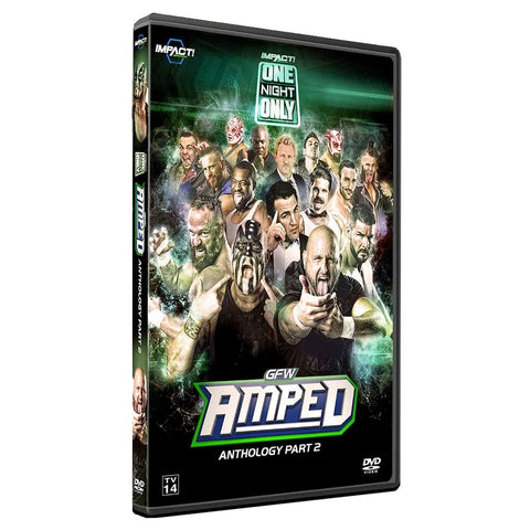 "IMPACT/GFW Global Force ""Amped"" Anthology Part 2 DVD"