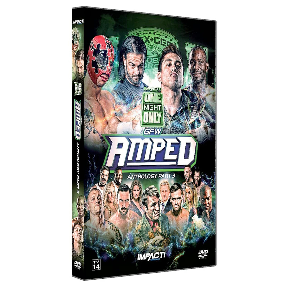 "IMPACT/GFW Global Force ""Amped"" Anthology Part 3 DVD"