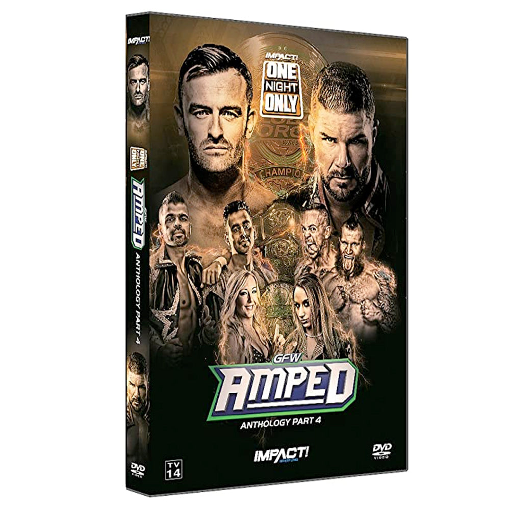 "IMPACT/GFW Global Force ""Amped"" Anthology Part 4 DVD"