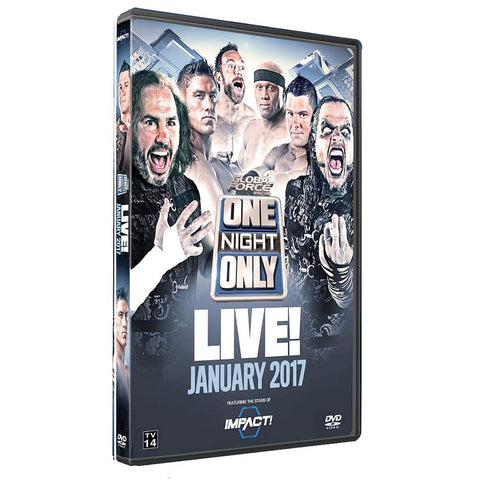 One Night Only: January 2017 DVD