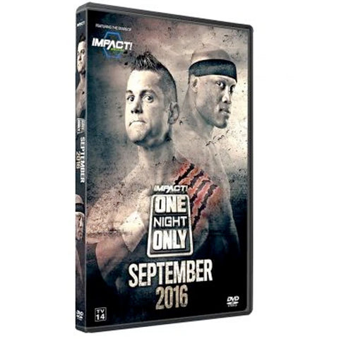 One Night Only : September 2016 DVD