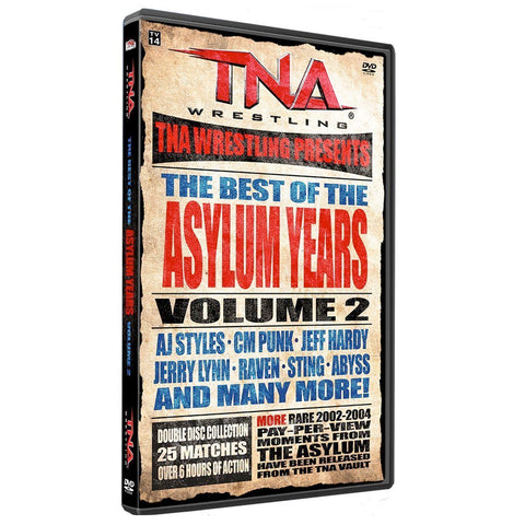 The Best of the Asylum Years Vol 2 DVD (2 Disc)