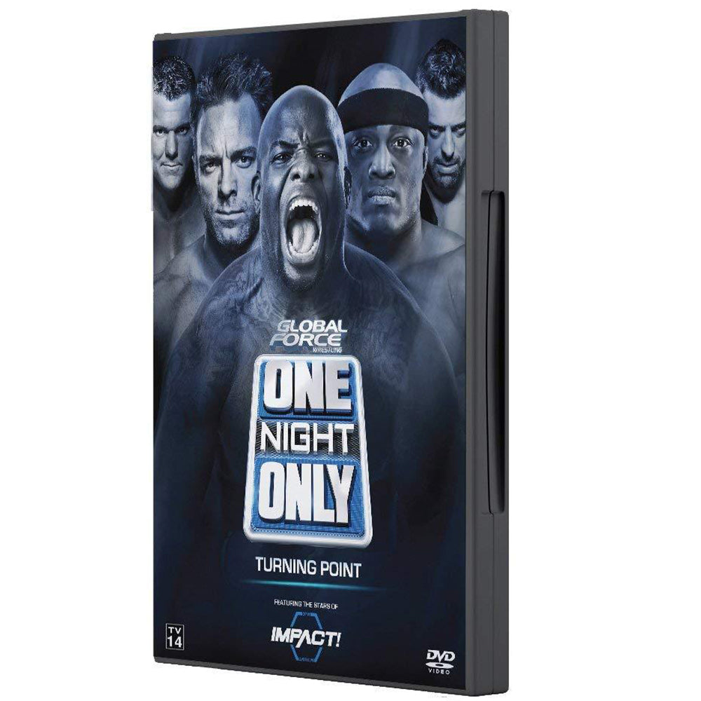 One Night Only: Turning Point 2017 DVD