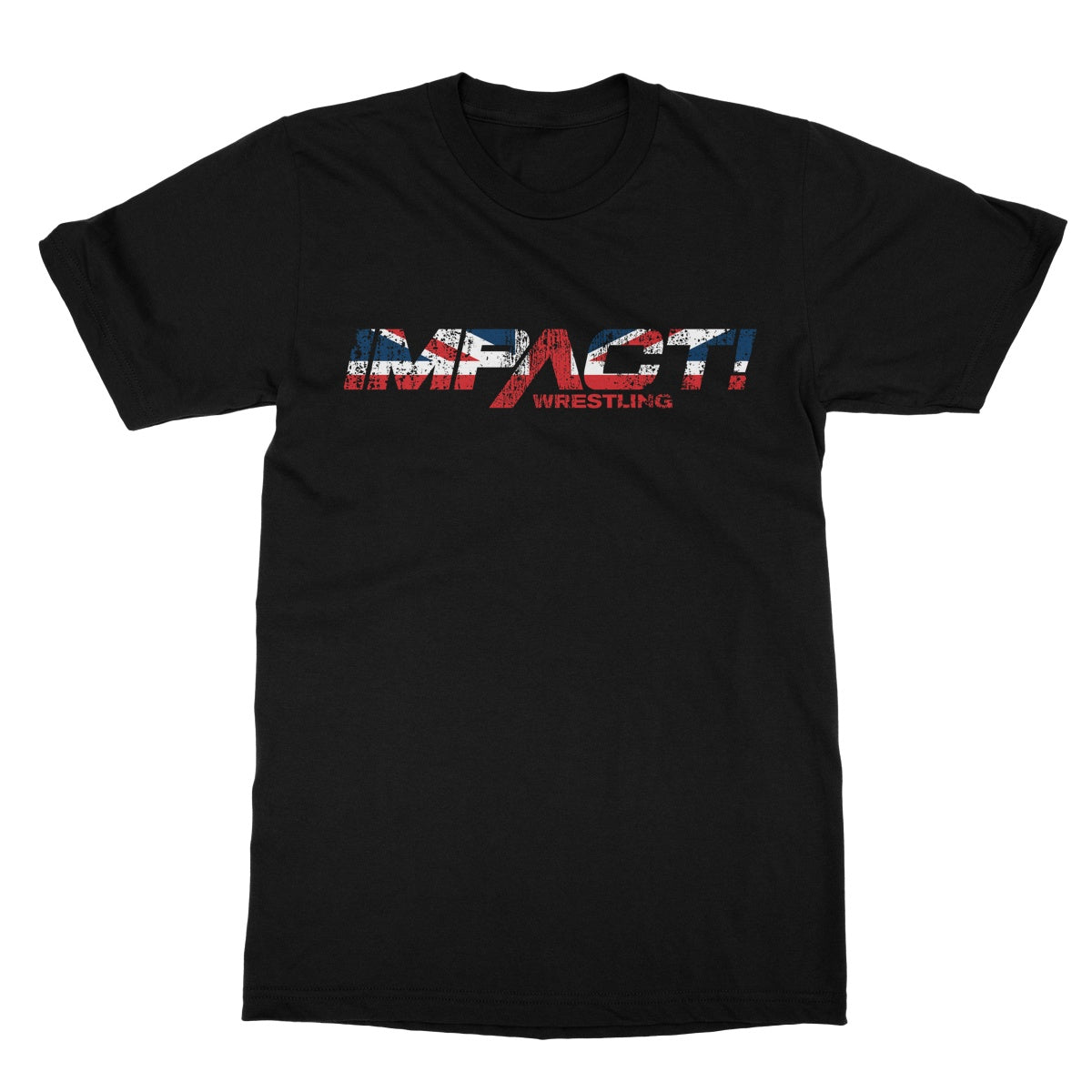 Impact Union Jack Distressed T-Shirt*