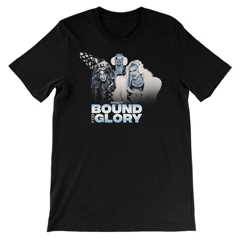 Bound For Glory 2020 - Rosemary/Taya/Bravo Unisex Short Sleeve T-Shirt