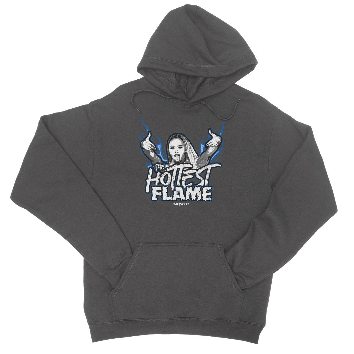 Kiera Hogan - The Hottest Flame College Hoodie