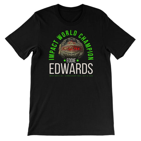 Eddie Edwards Impact World Champion Unisex Short Sleeve T-Shirt