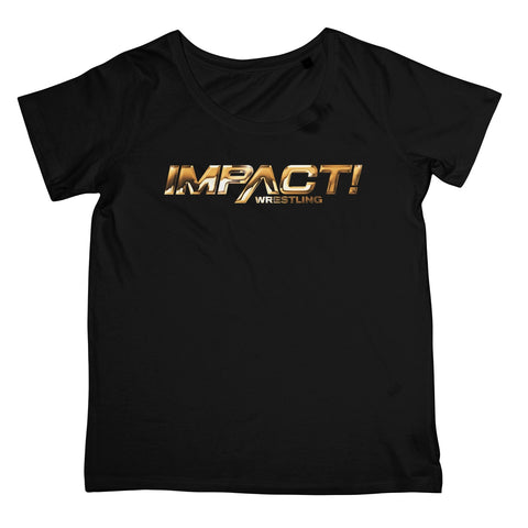 Impact Gold Logo Women's Retail T-Shirt
