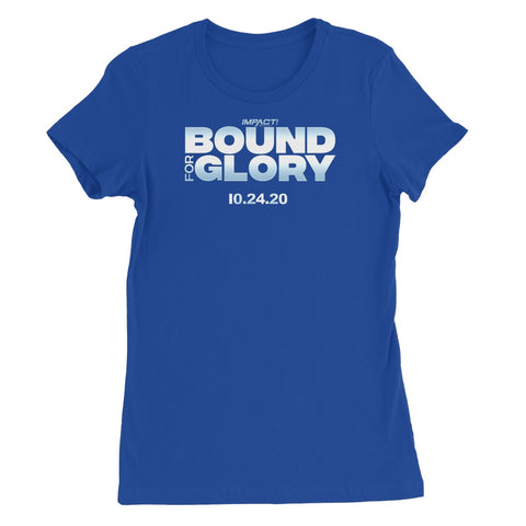 Bound For Glory 2020 - Logo Women's Favourite T-Shirt
