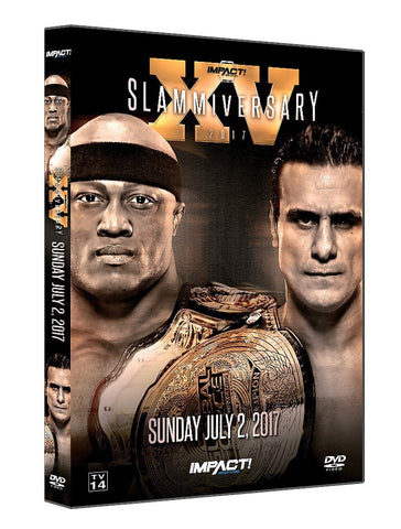 Slammiversary 2017 Single Disk DVD