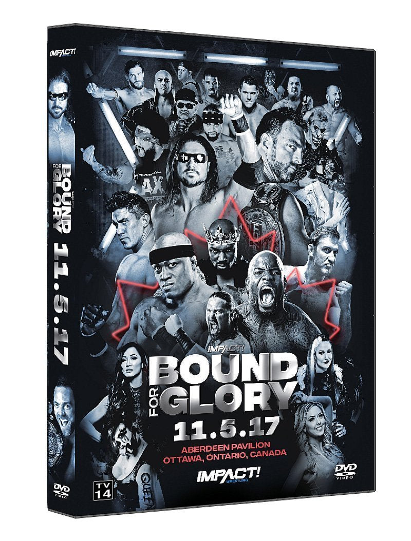 Bound For Glory 2017 Single Disk DVD