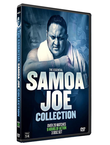 Samoa Joe Triple Disk DVD