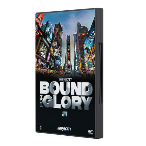 2018 Impact Bound For Glory DVD