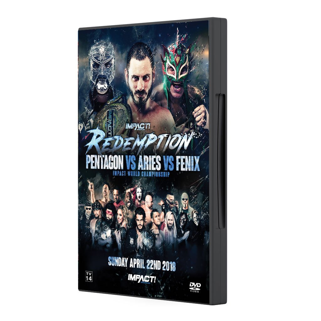 2018 Impact Redemption Pentagon VS Aries VS Fenix Impact World Championship DVD