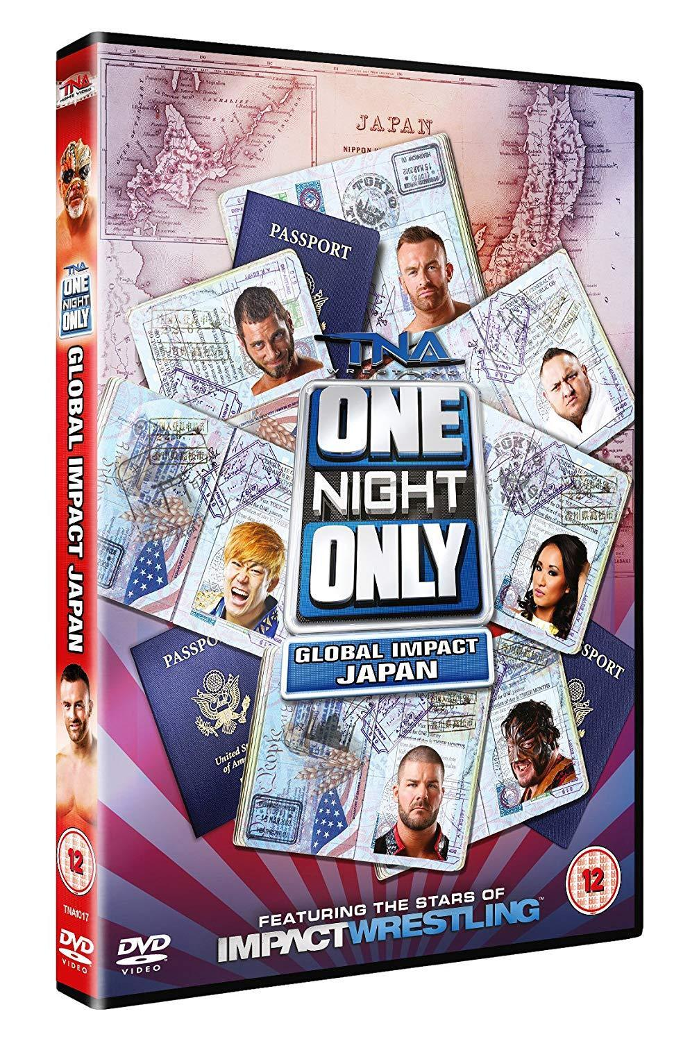 One Night Only: Global Impact Japan 2014 DVD
