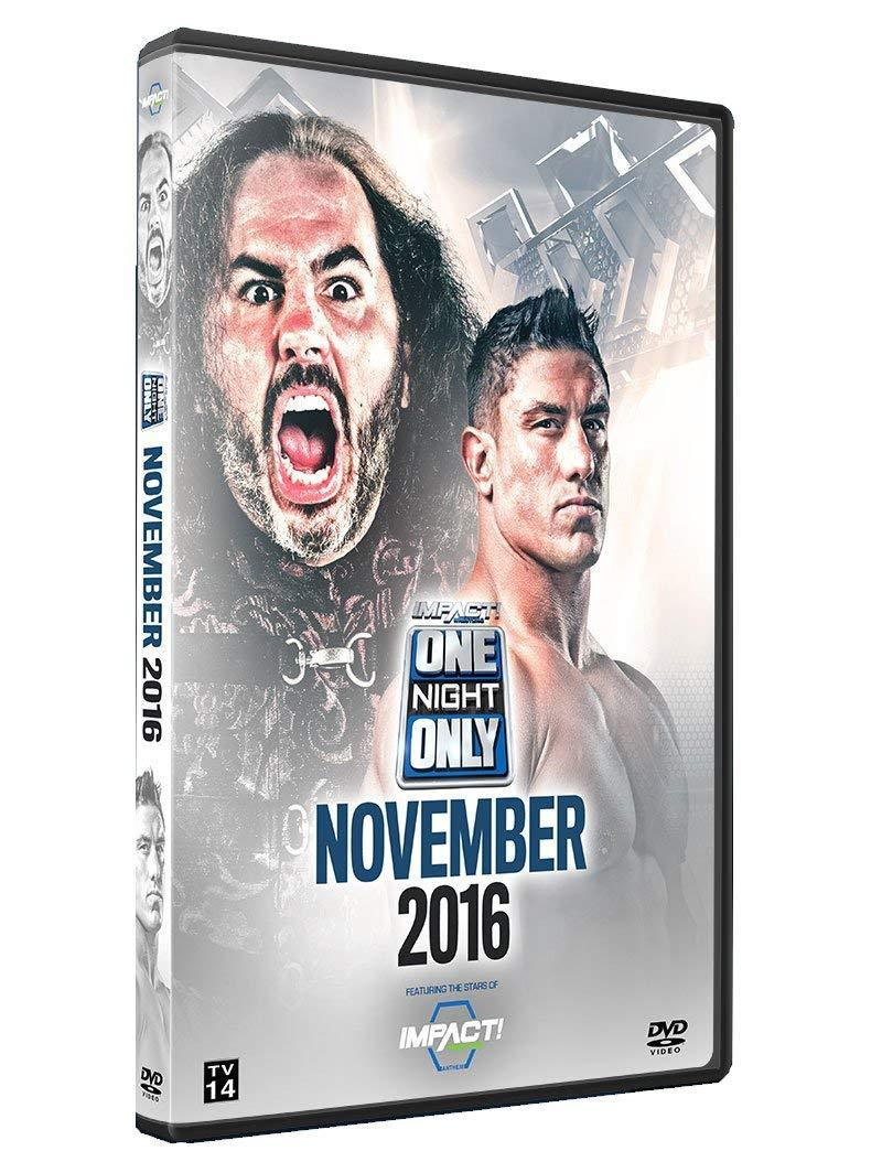 One Night Only: November 2016 DVD