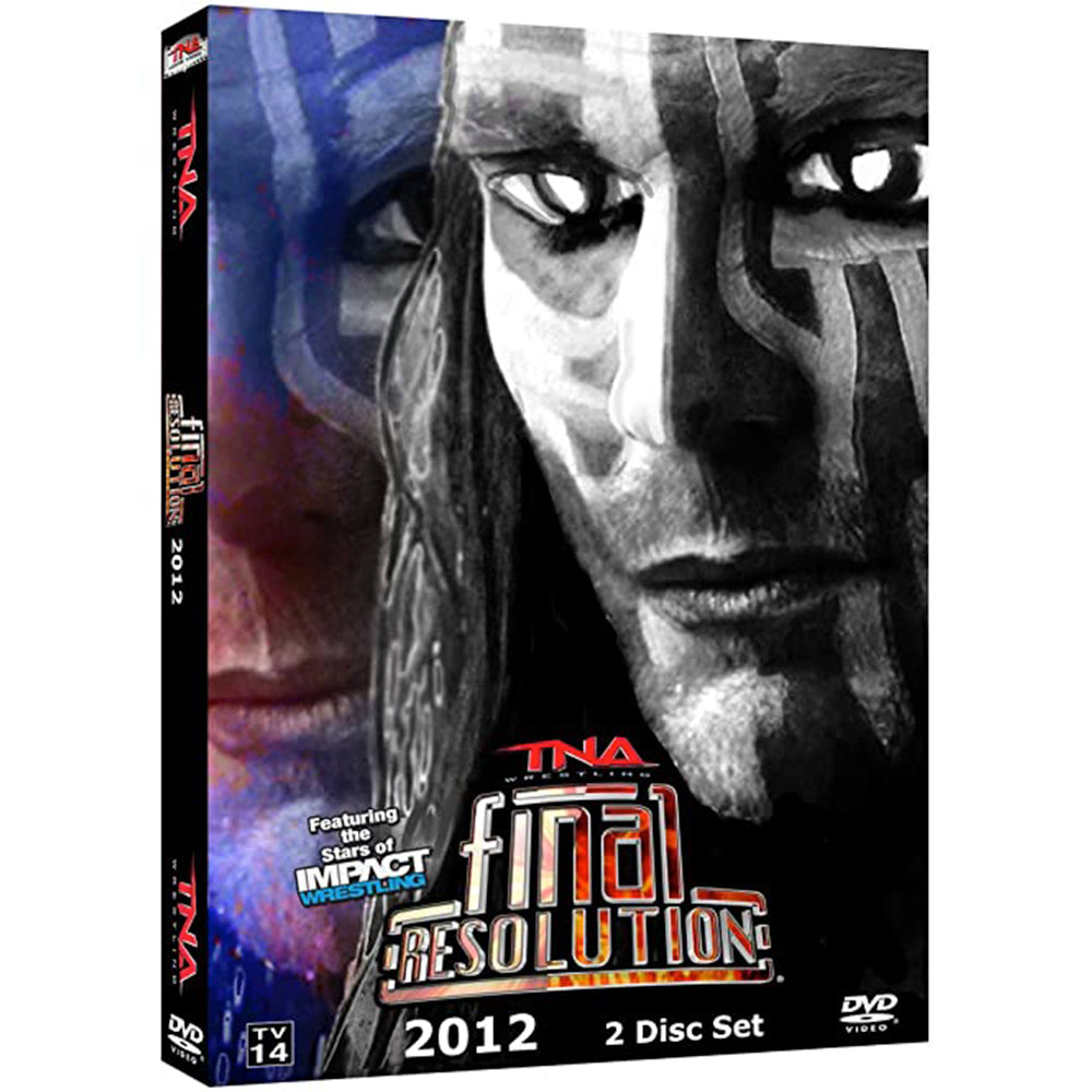 Final Resolution 2012 DVD