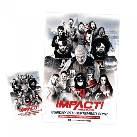 Impact Wrestling Vs. The UK Programme/Poster Combo (Exclusive)