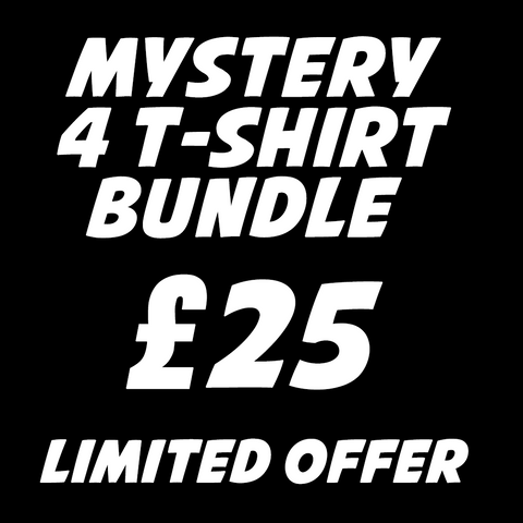 Mystery 4 T-Shirt Bundle for £25 (Eurostore Exclusive)