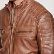 Fashion Leisure Men'S Solid Color Zipper Jacket