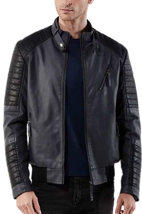 Men's Casual Leather PU Large Size