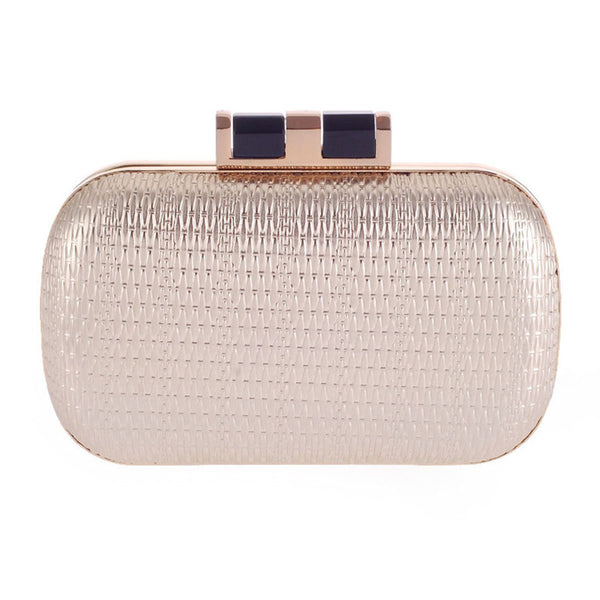 Embossed Pu Clutch Bag