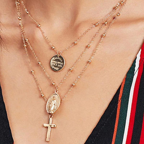 The Notre Dame Cross Has Multiple Necklaces