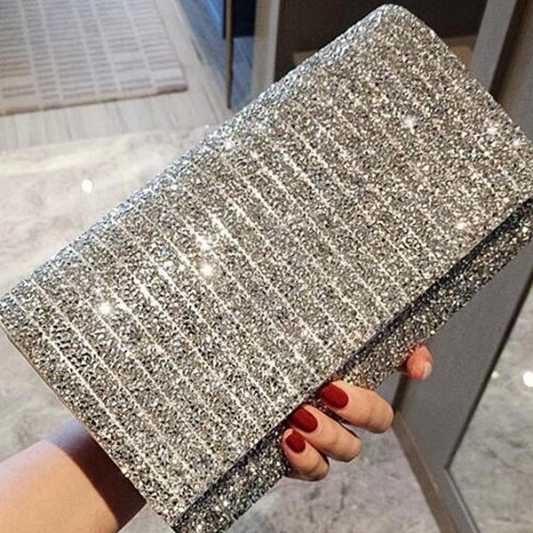 Fashion Diamond Wallet Small Evening Hand Bag