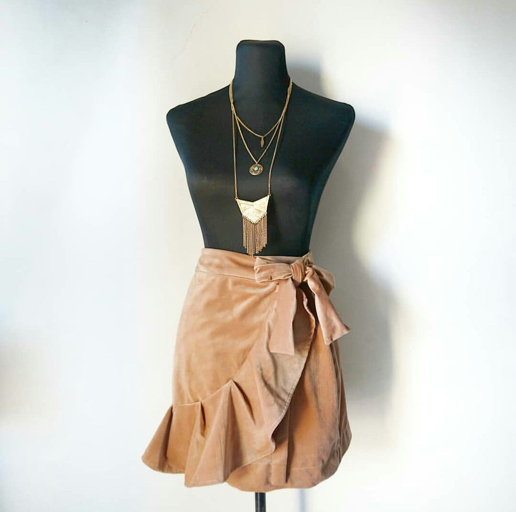 Carina wrap skirt