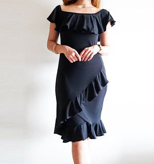 Safiya Ruffled Dress